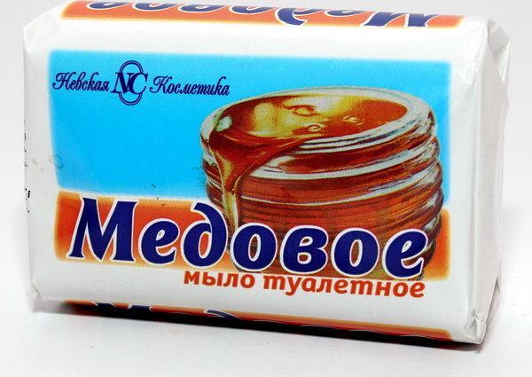 Мыло Невская косметика медовое туалетное твердое