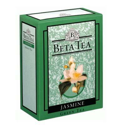 Чай Beta Tea Selected зеленый жасмин крупнолистовой