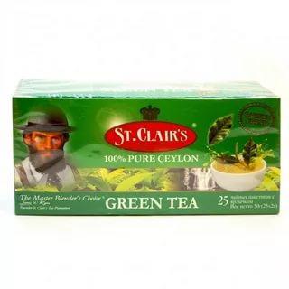 Чай St. Clair's зеленый 50 гр
