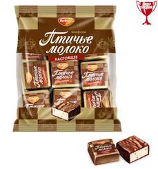 Конфеты Рот Фронт Птичье молоко сливочно-ванильные 225 г.