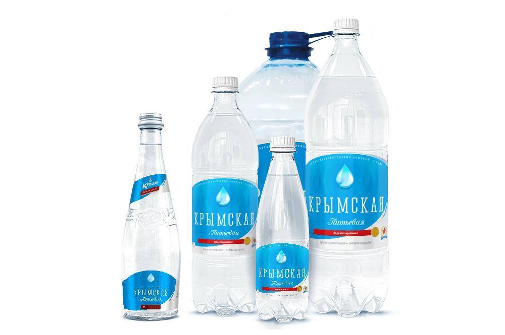 Вода питьевая Крым Крымская Столовая негазированная