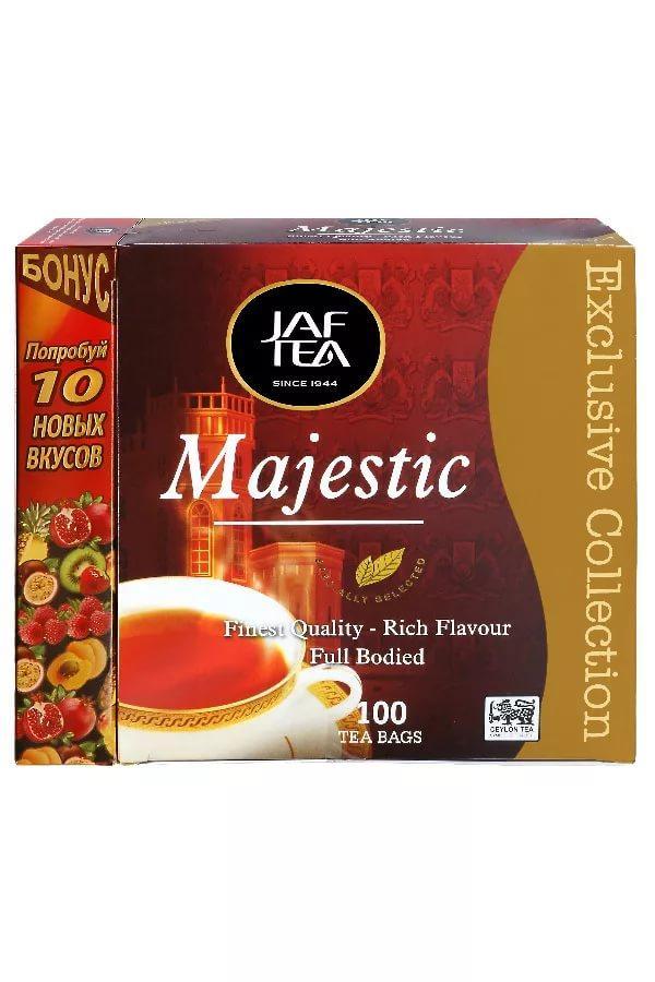 Чай Jaf Tea Маджестик в пакетиках + подарок