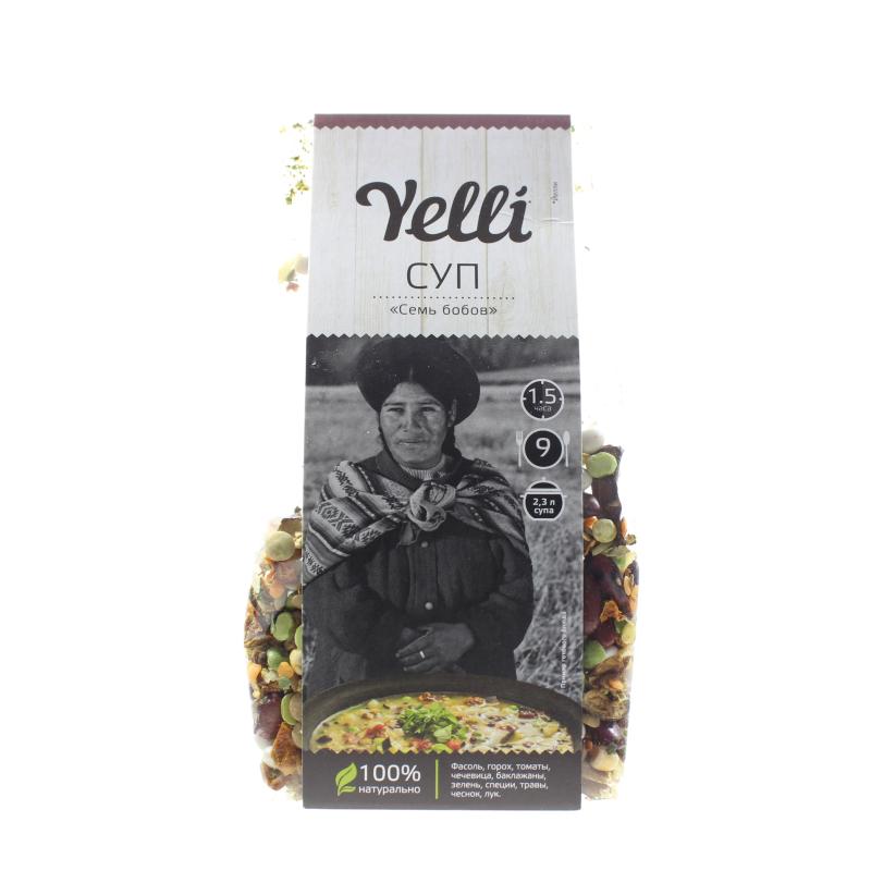 Полуфабрикат Yelli Суп Семь бобов