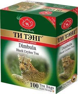 Чай Ти Тэнг Димбула черный в пакетиках