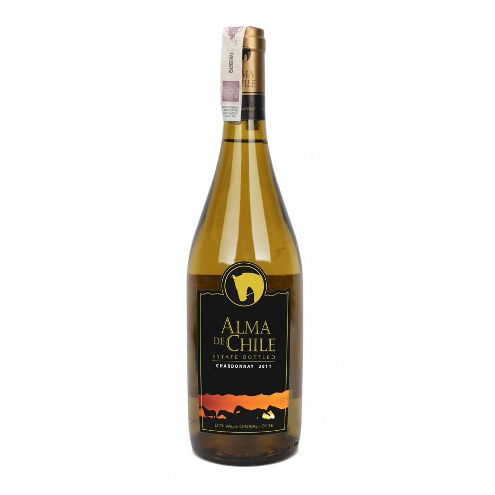 Вино Alma de Chile Шардоне белое сухое 12,5%