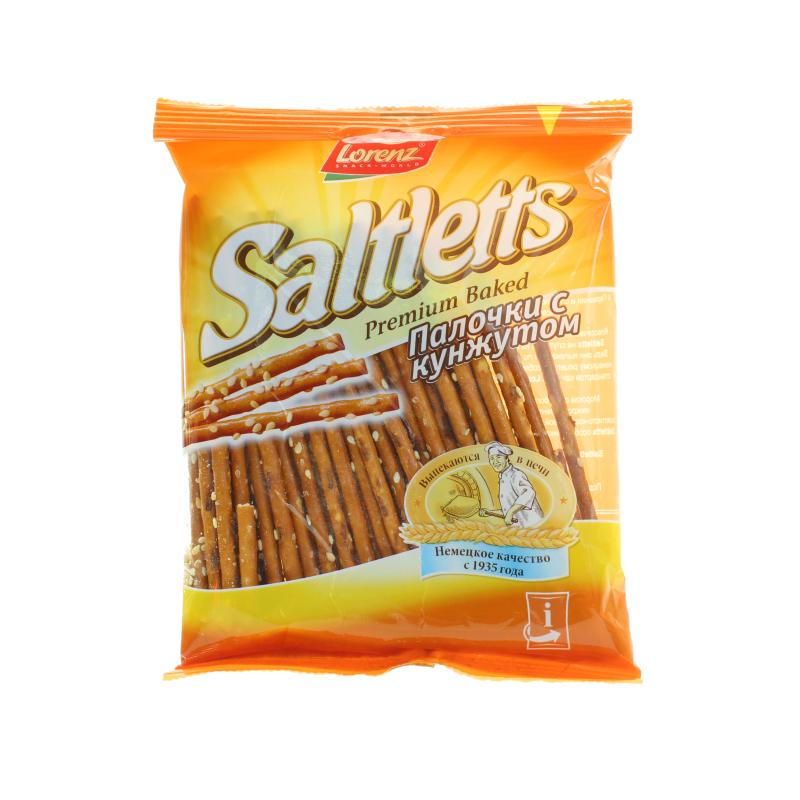 Палочки Saltletts соленые с кунжутом