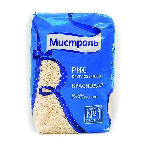 Рис Мистраль Краснодар круглозерный для каш, супов и гарниров