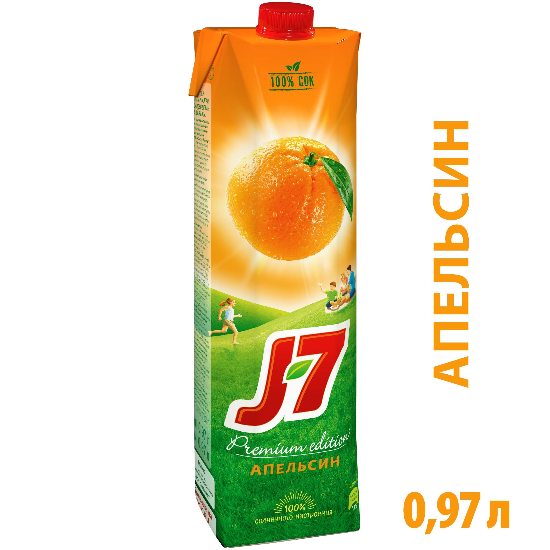 """Сок """"J7"""" Апельсин"""