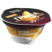 Йогурт Молочная культура с грушей и ванилью 2,7-3,5%, пласт.стакан 150 гр.