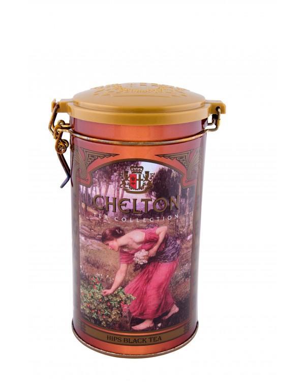 Чай Chelton черный с шиповником листовой