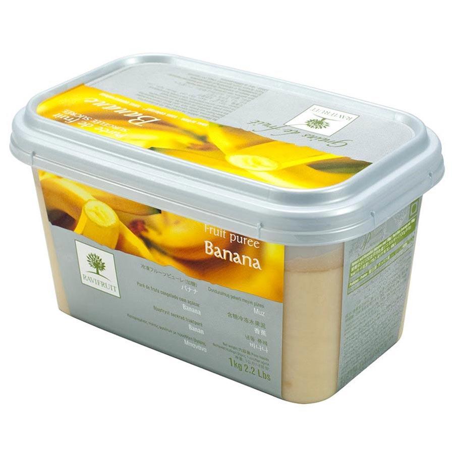 Пюре Ravifruit из банана с/м 10% сахара, Франция