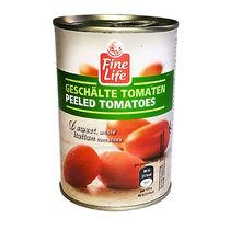 Томаты Fine Life очищенные в томатном соусе, Жестяная банка 400 г