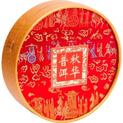 Чай Чю Хуа Пу-эрх черный листовой