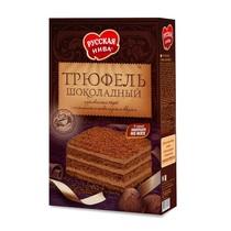 Торт Русская Нива Трюфель шоколадный песочный