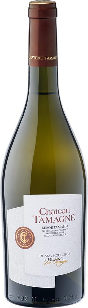 Вино игристое Chateau Tamagne Blanc белое полусладкое 13%