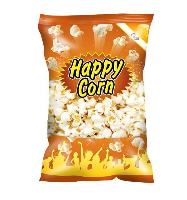 Воздушная кукуруза попкорн Happy Corn со вкусом сыра