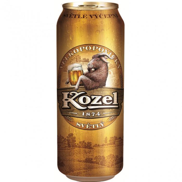 Напиток пивной Velkopopovicky kozel светлое 4%