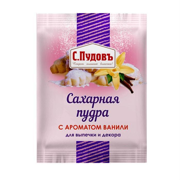 Сахарная пудра С.Пудовъ с ароматом ванили