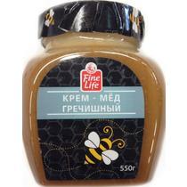 Крем-мед Fine Life гречишный