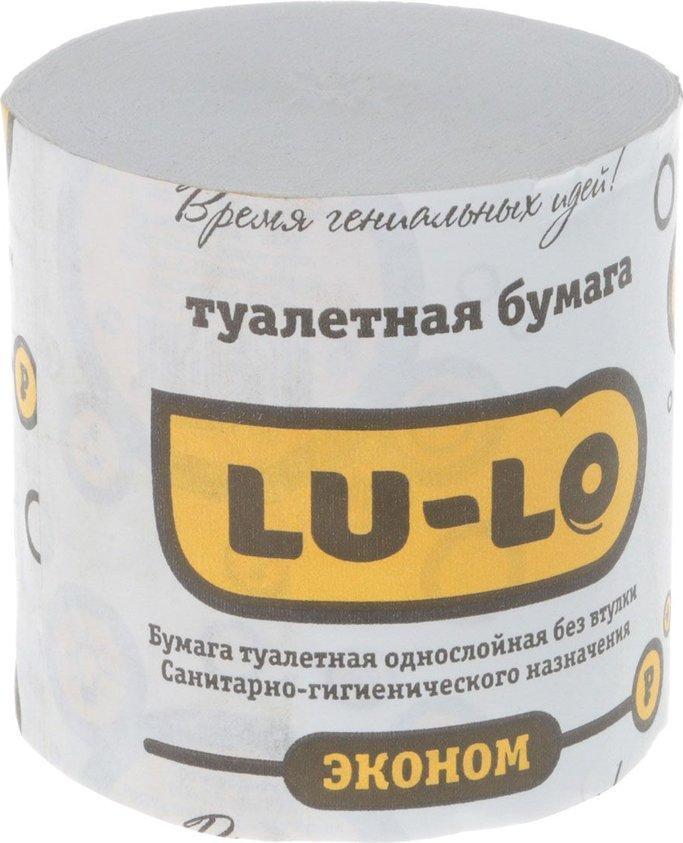 Туалетная бумага Lu-Lo без втулки 60 рулонов