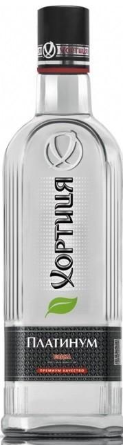 Водка Хортиця Платиниум 40%