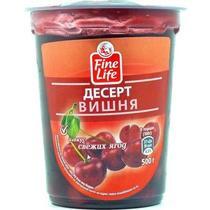 Десерт плодово-ягодный Fine Life вишня