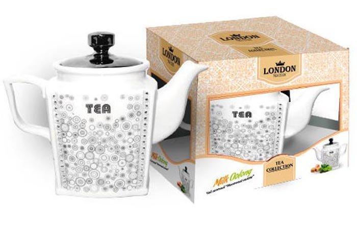 Чай London Tea Club Молочный оолонг зеленый в заварнике 100 гр