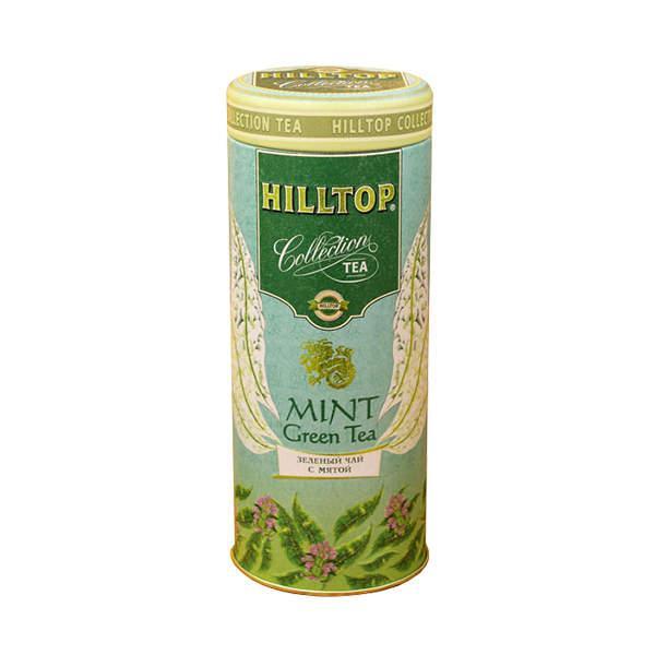 Чай зеленый Hilltop С мятой