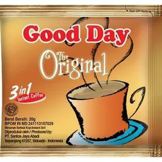 Кофе Good Day 3в1 Оригинальный