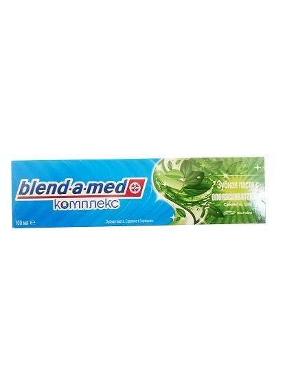 Зубная паста Blend-a-med Комплекс с ополаскивателем Мята и Чабрец 100мл