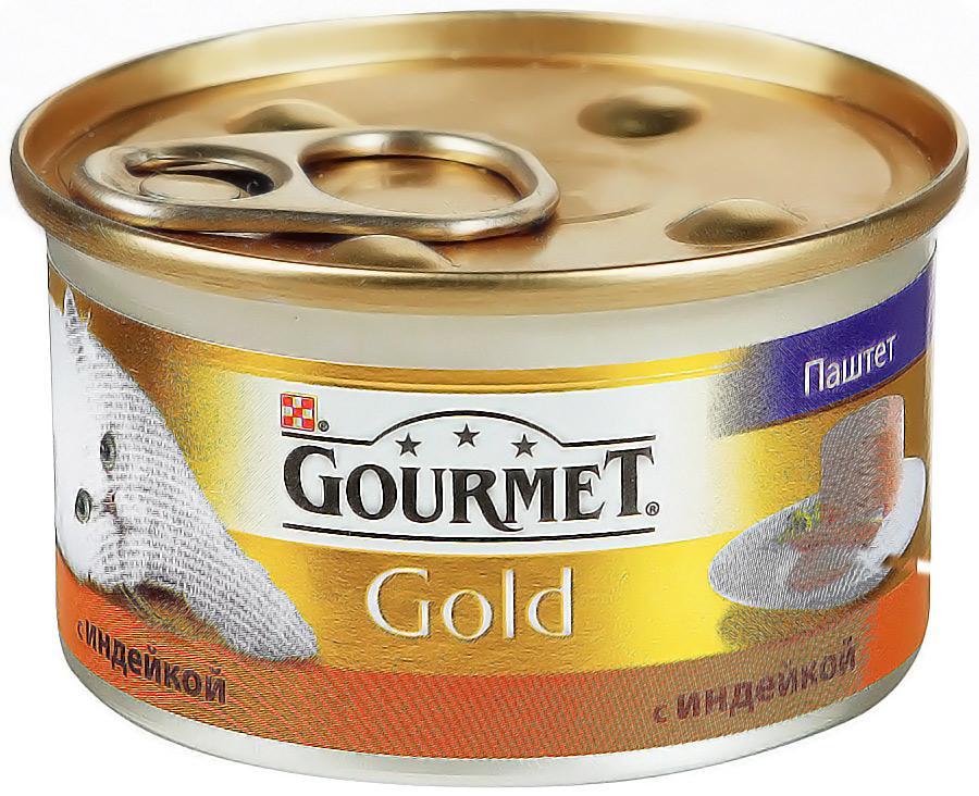 Консервы Gourmet Gold паштет с индейкой 85г