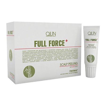 Пилинг для кожи головы Ollin Professional с экстрактом бамбука 15 мл, 10 шт