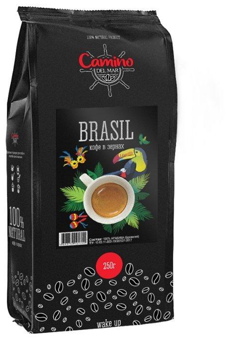 Кофе зерновой Camino del Mar Бразилия