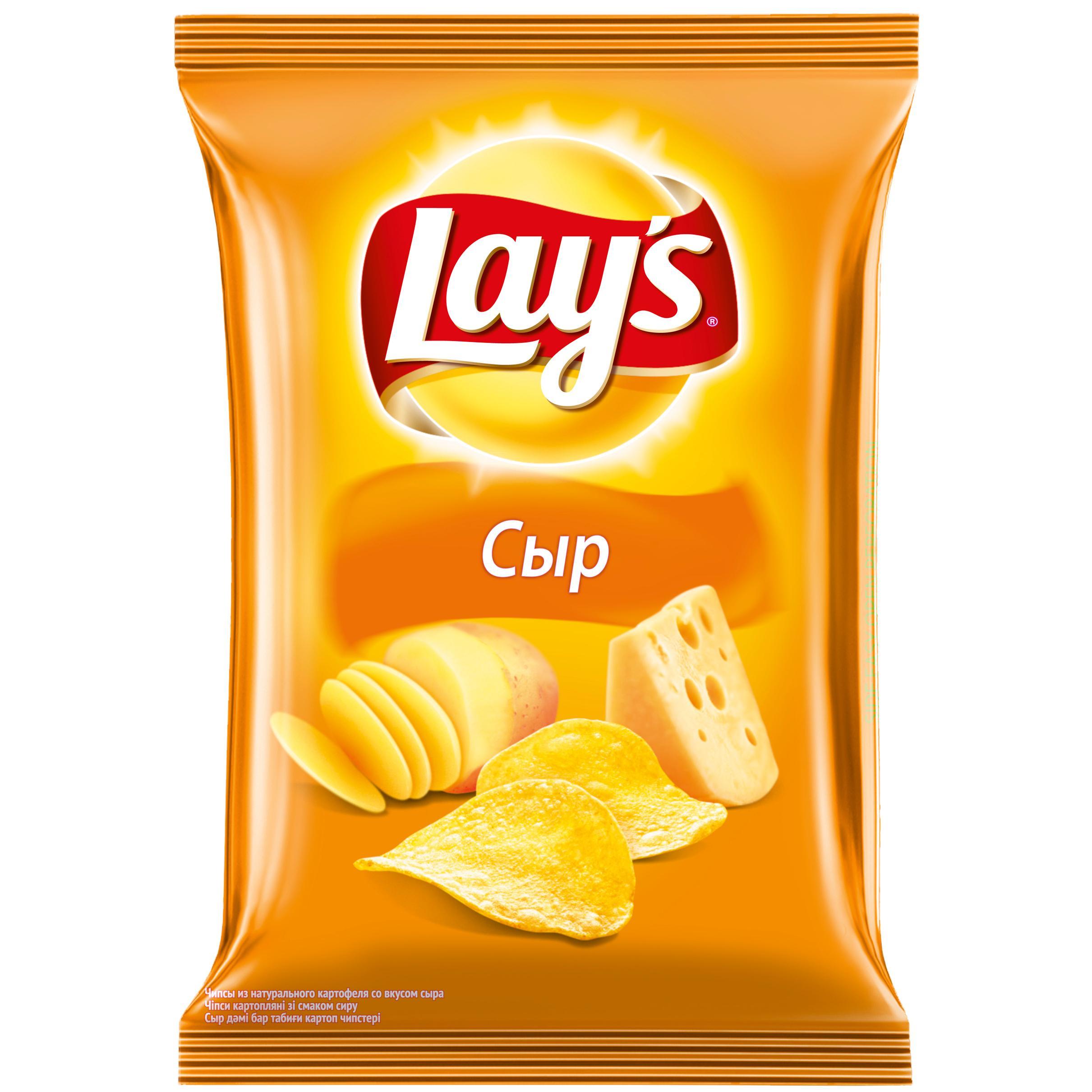 Чипсы Lays Сыр картофельные