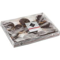 Пончики Rioba с темной глазурью замороженные