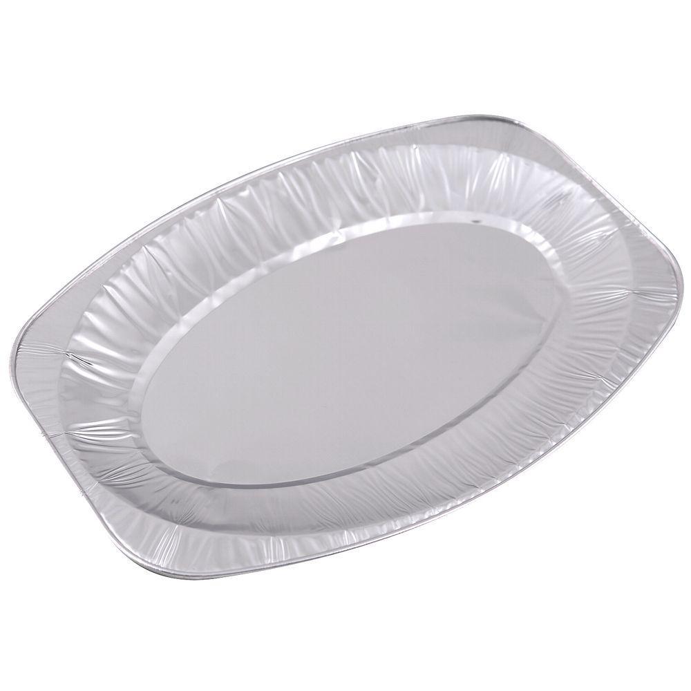 Блюдо овальное Мультидом 2шт. 35х24х2,5см. алюминий