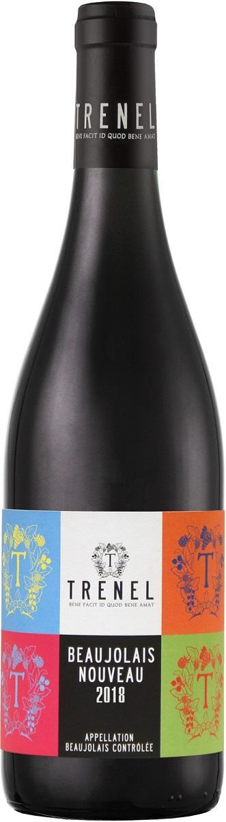 Вино Божоле Нуво Тренель 2018, Франция