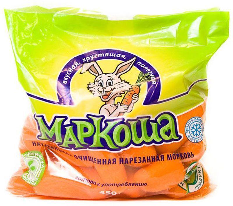 Морковь Маркоша очищенная нарезанная