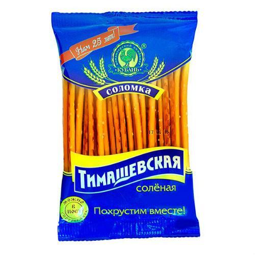 Соломка Тимашевская соленая 100гр