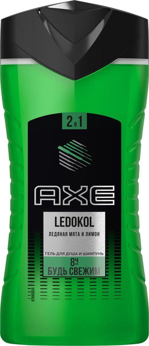 Гель для душа-шампунь Axe Ledokol 2в1