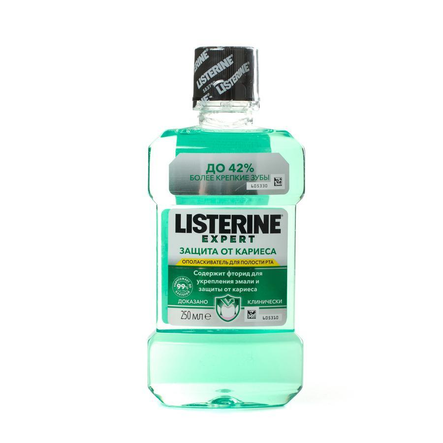 Ополаскиватель для полости рта Listerine Expert Защита от кариеса Без спирта