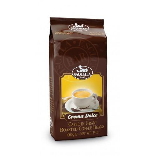Кофе Saquella Crema Dolce в зернах