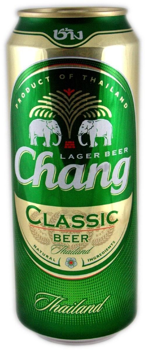 Пиво Chang светлое 5%