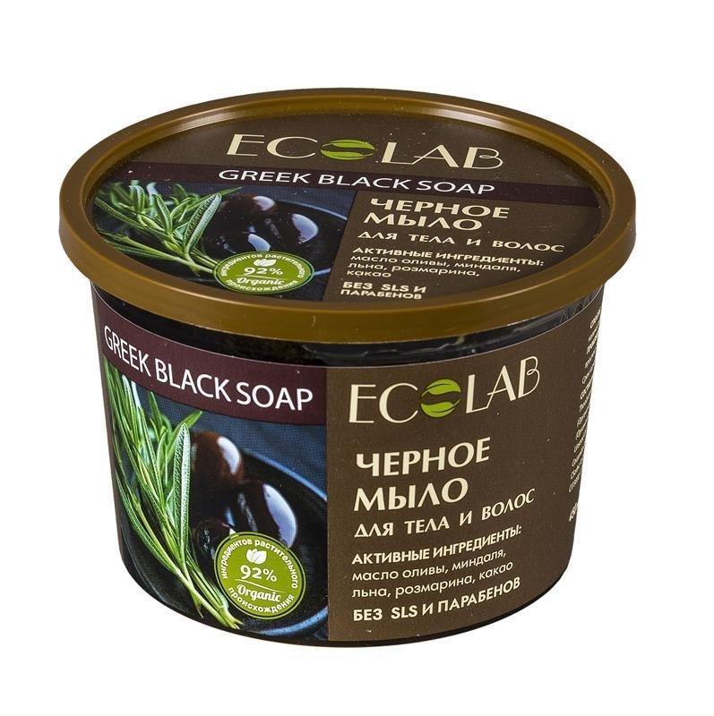 Мыло для тела и волос EcoLab Черное