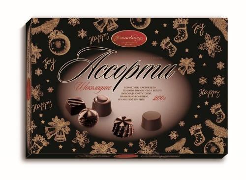 Конфеты Волшебница шоколадное ассорти