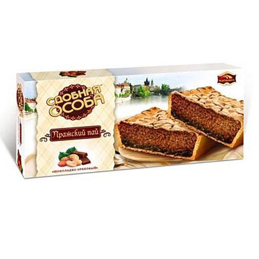 Пирог Сдобная особа Пражский пай шоколадно-ореховый