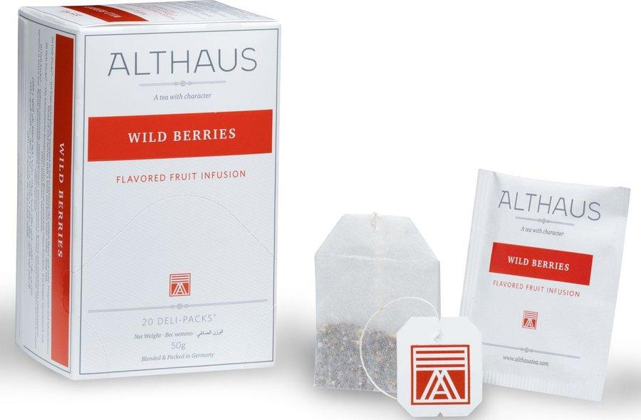 Чай Althaus Wild Berries 20 пакетов для чашки