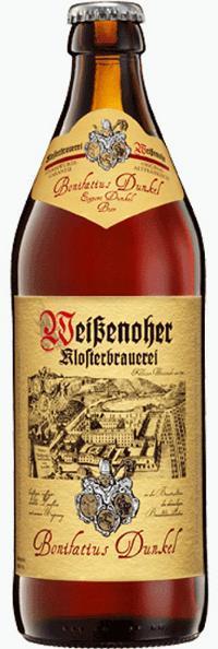 Пиво Weissenoher Bonifatius Dunkel темное фильтрованное непастеризованное