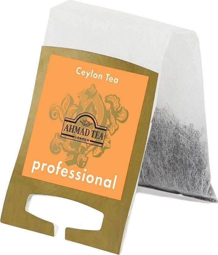 Чай Ahmad Tea Professional Цейлонский Оранж Пеко черный листовой в фильтр-пакетах для заваривания в чайнике, 20 шт