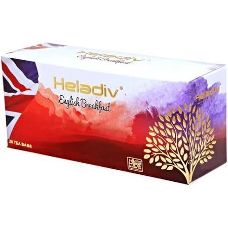 Чай черный Heladiv English Breakfast 25 пакетов